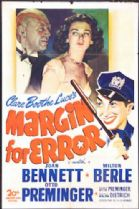 Margin for Error 1943 DVD - Joan Bennett / Milton Berle